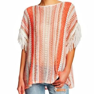 Tommy Bahama fringe sweater